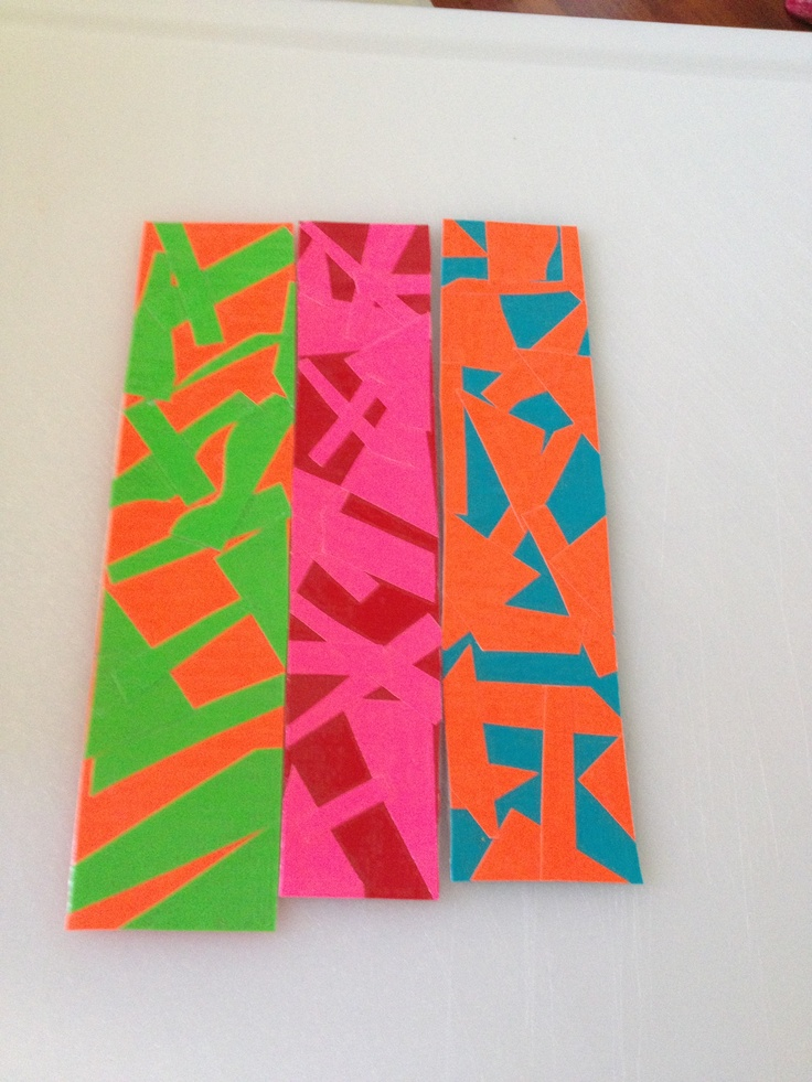 154 best images about bookmarks on pinterest bookmark for Duct tape bookmark ideas