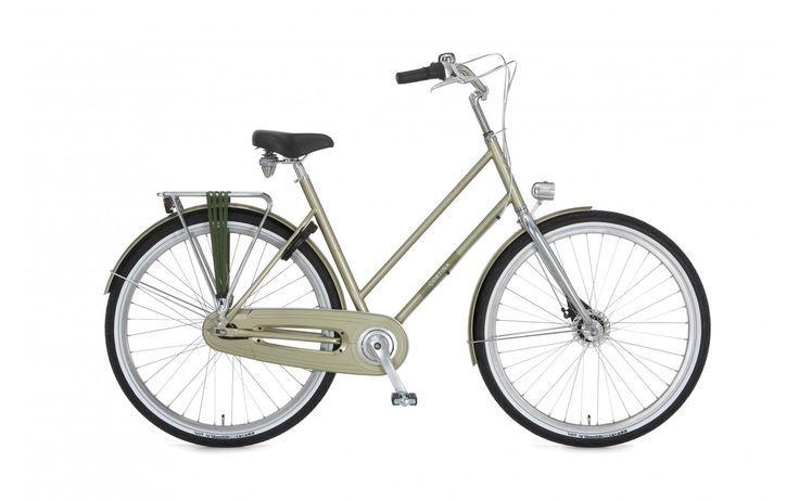 Rower damski miejski Cortina Chrono. Piękny, prosty design ramy przywodzi na myśl klasykę wśród rowerów. Wraz z chromowanym widelcem, dodającym nowoczesności, całość tworzy spektakularny jednoślad. http://damelo.pl/damskie-rowery-miejskie-stylowe/797-rower-damski-miejski-cortina-chrono.html