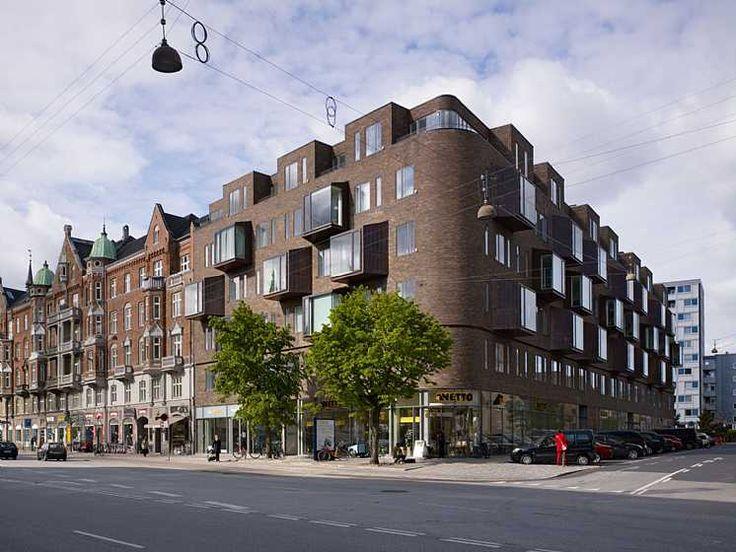 Housing, Østerbrogade 105  C.F. Møller. Photo: Torben Eskerod
