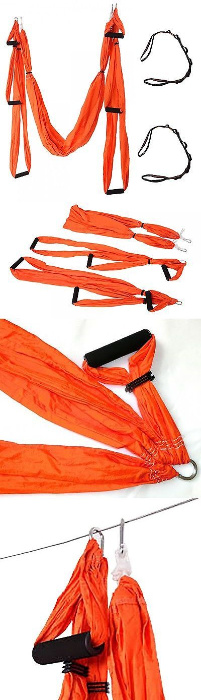 Yoga Props 179809: Qubabobo Nylon Taffeta T210 Anti-Gravity Yoga Swing Trapeze, Orange, New -> BUY IT NOW ONLY: $58.99 on eBay!