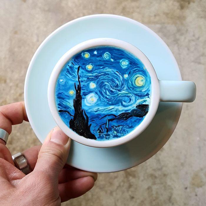 Los cafés más increíbles los encontramos en Instagram