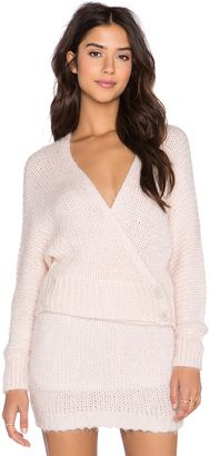 ASILIO The Pink Slipper Sweater - Shop for women's Sweater - Ice Pink_WK10 Sweater