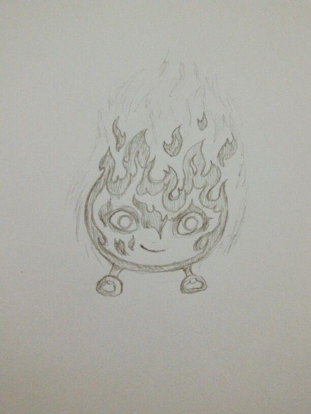 Elements: Mischievous fire sprite