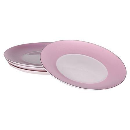 Set of 4 Pink Side Plates