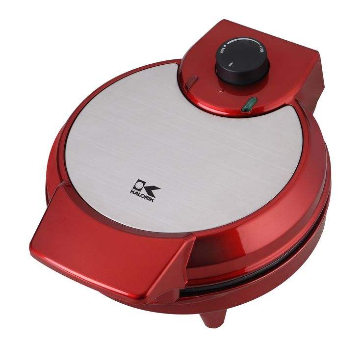 Black 3 Non Stick Coating Color Select Control Waffle Maker with Indicator Light