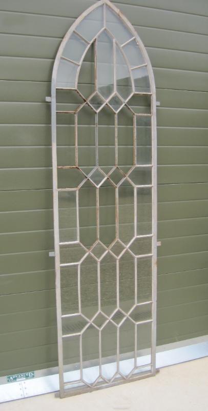 Cast Iron Coalbrookdale Gothic Arched Window Frame Shops