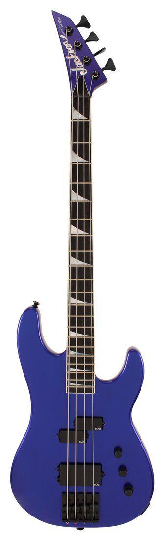 Jackson USA Custom Shop Electric Bass Guitar Cobalt Blue