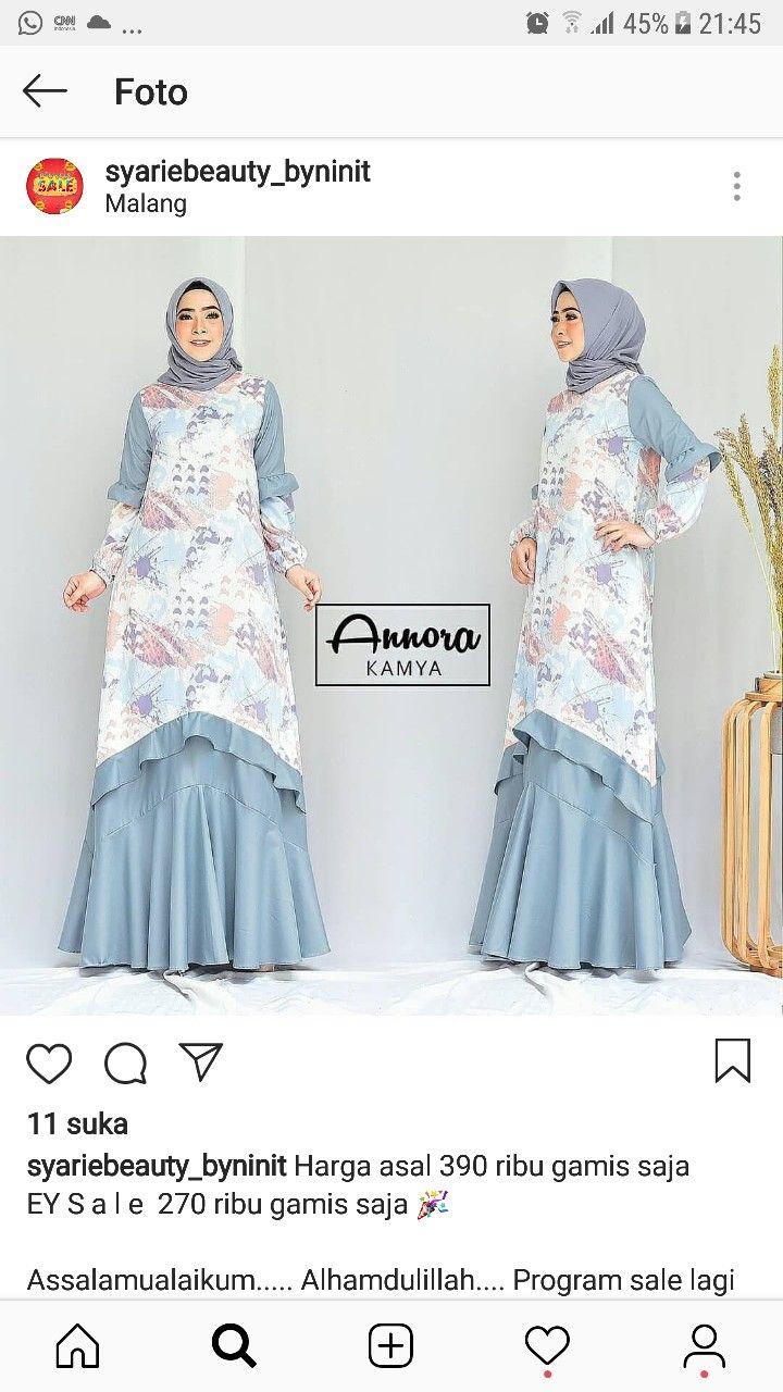 Pin by rachmah mubarak on Long dress in 2019  20e49b0bc0