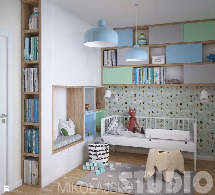 Wystrój wnętrz - Pokój dziecka dla chłopca - pomysły na aranżacje. Projekty, które stanowią prawdziwe inspiracje dla każdego, dla kogo liczy się dobry design, oryginalny styl i nieprzeciętne rozwiązania w nowoczesnym projektowaniu i dekorowaniu wnętrz. Obejrzyj zdjęcia!