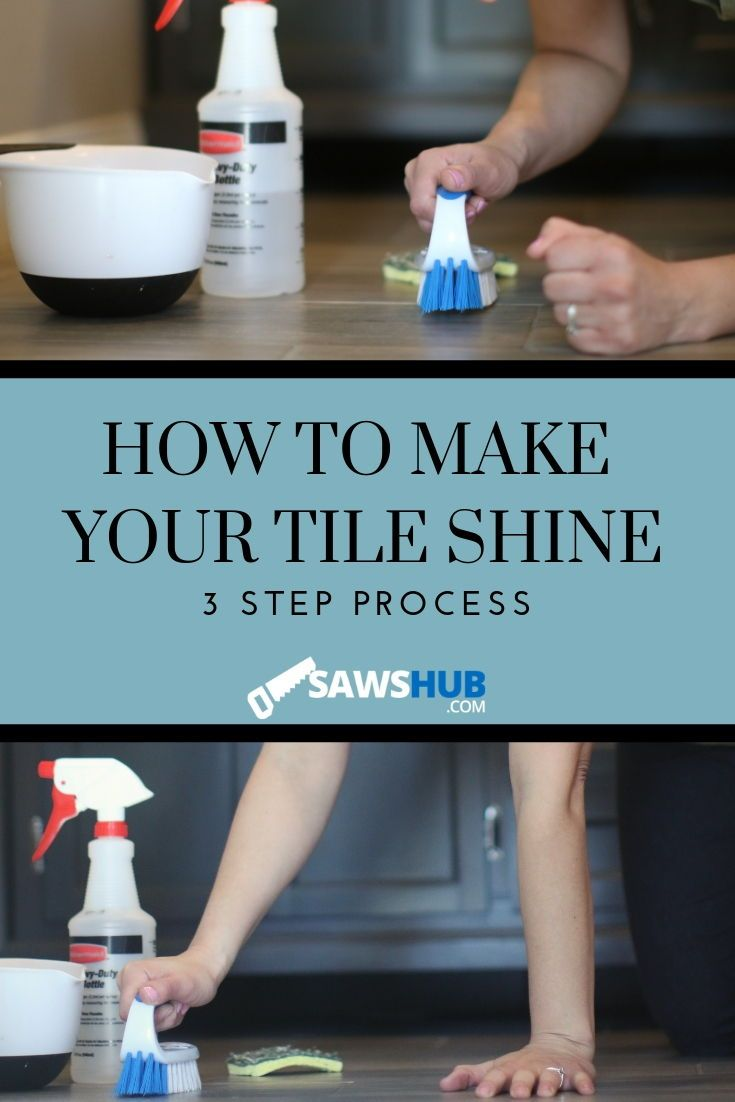 How To Make Tile Shine Porcelain Ceramic And Marble Cleaning