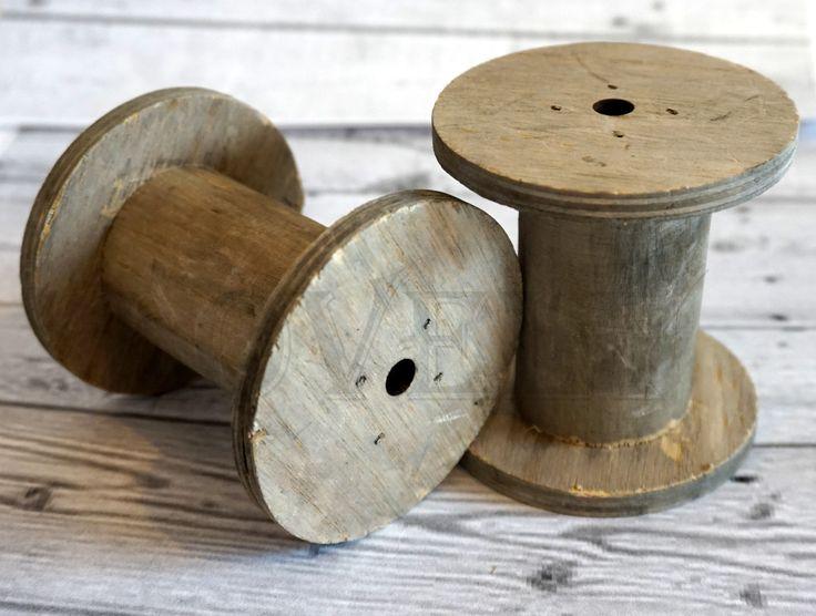 #Lovely Pasmaneria #szpulki drewniane Vintage