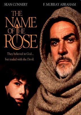 The Name of the Rose (1986) In this adaptation of Umberto Eco's best-selling novel, 14th-century Franciscan monk William of Baskerville (Sean Connery) and his young novice (Christian Slater) arrive at a conference to find that several monks have been murdered under mysterious circumstances. To solve the crimes, William must rise up against the Church's authority and fight the shadowy conspiracy of monastery monks using only his intelligence -- which is considerable.