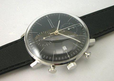 Rakuten - Junghans Max Bill JUNGHANS BY genuine national self-winding watch chronoscope 4601 027