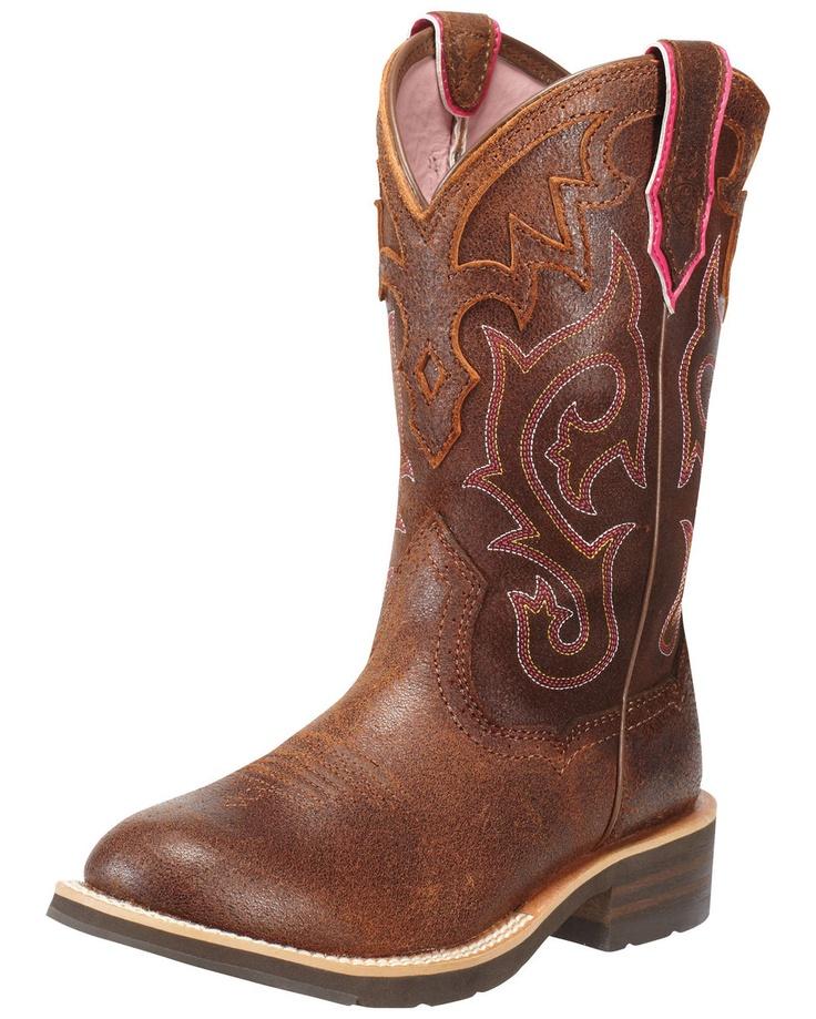 Ariat Women's Unbridled Boot - Roughed Cognac