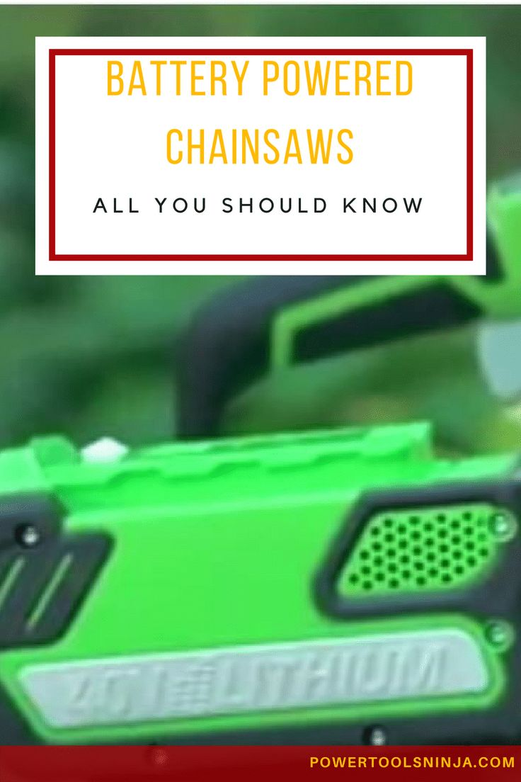When looking for chainsaws, a battery powered chainsaw model is one of your options.Here are our top 3 recommendations on what to buy and why! via @powertoolsninja
