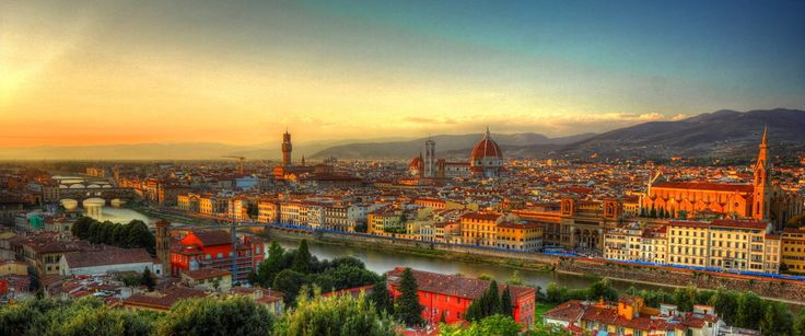 Sunset from Piazzale Michelangelo by Naoto Tsujimoto on 500px