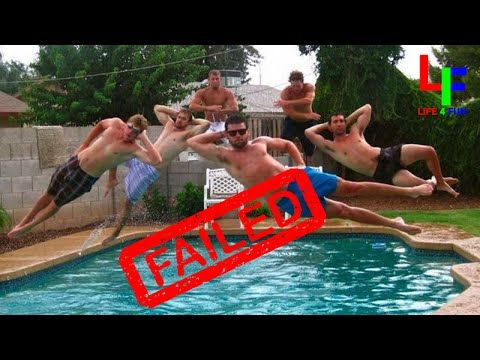 Epic Swimming Pool Fails Caught On Camera At Just The Right Moment Best Funny Videos