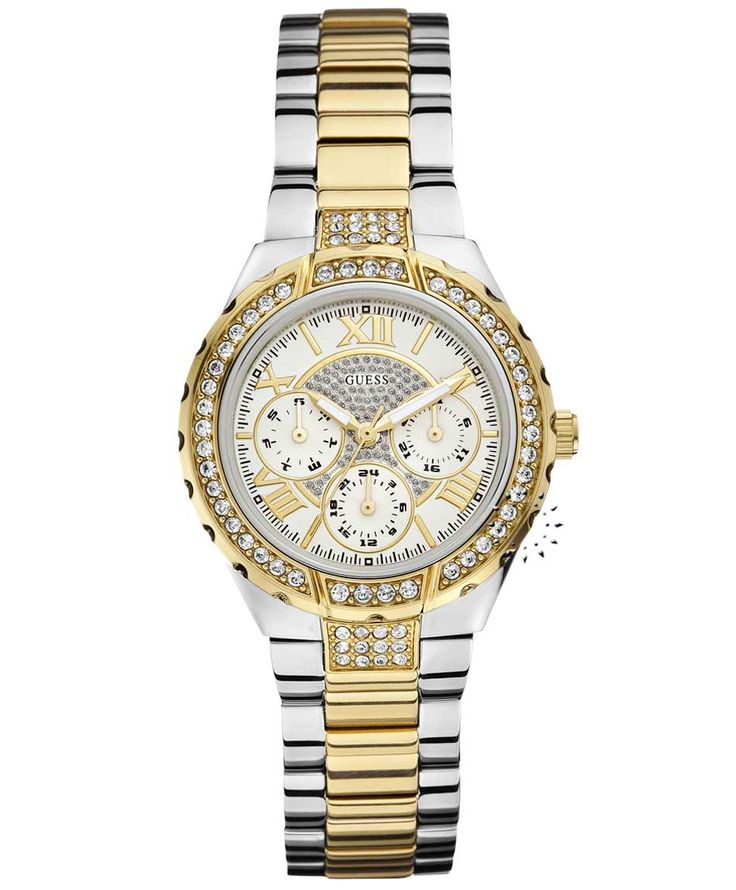 GUESS Vivacious Crystal Gold Stainless Steel Bracelet Η τιμή μας: 189€ http://www.oroloi.gr/product_info.php?products_id=35129