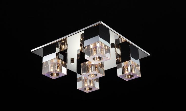 Luminaire d 39 ambiance plafonnier design a telecommande largo - Plafonnier telecommande luminaire ...