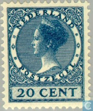 Netherlands [NLD] - Queen Wilhelmina-Type ' Veth ' 1925