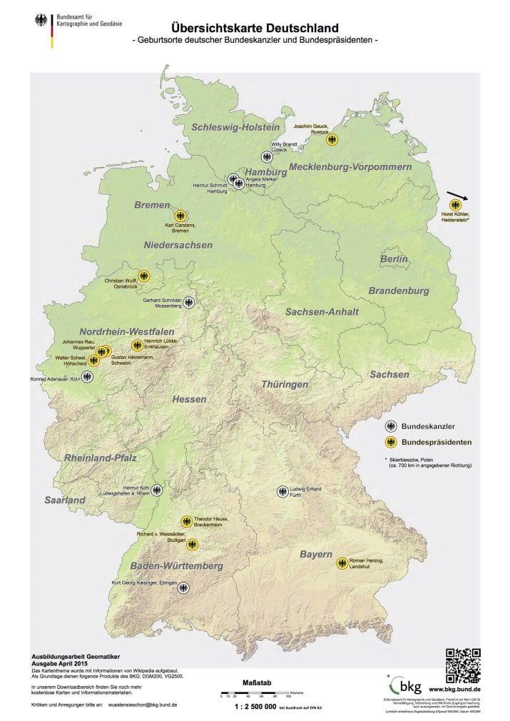 25 Karten Nach Denen Du Komplett Neu Auf Deutschland Blickst