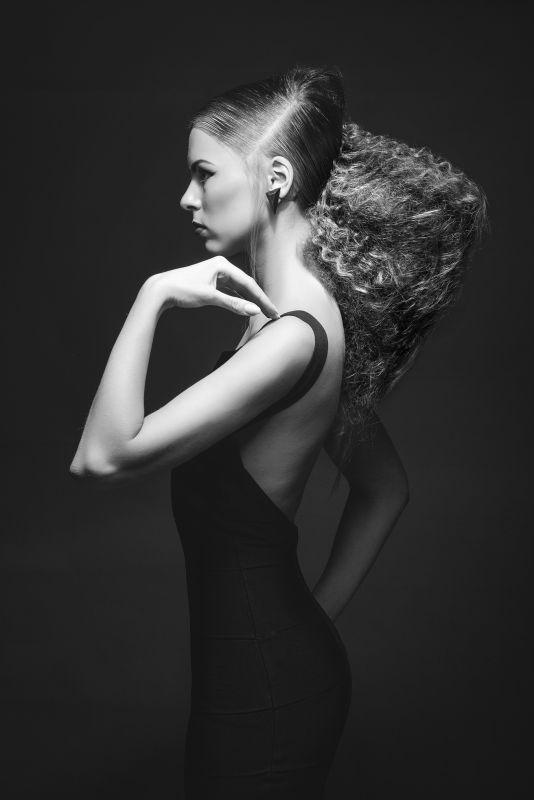 Young Talent Style Masters Contest 2012,Elizabeta Fogel from #Rusia Social Media Santana Peluqueros Alicante.