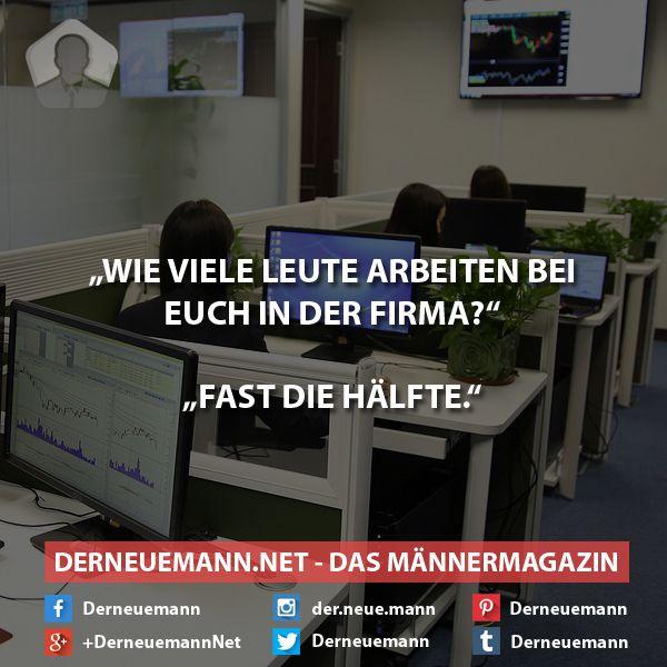 Fleißiges Personal #derneuemann #humor #lustig #spaß #sprüche #job #arbeit