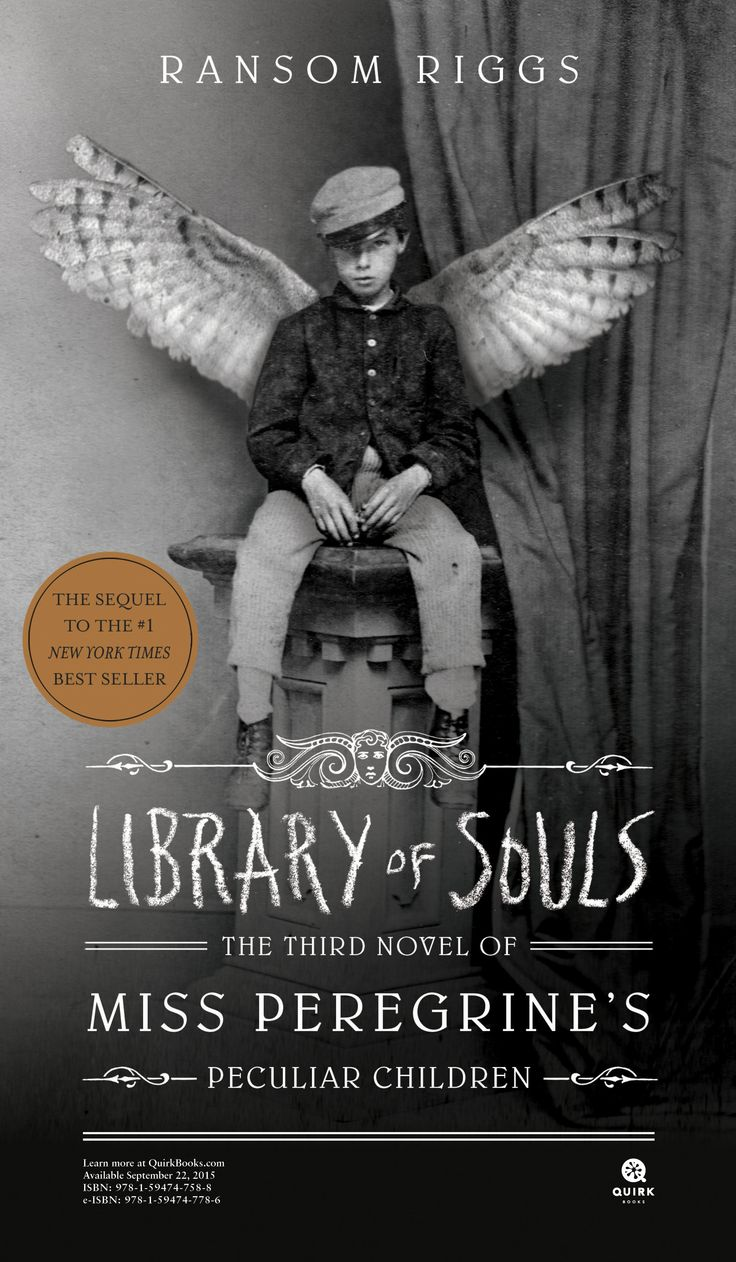 Library of Souls by Ransom Riggs legal-sized poster #books #education