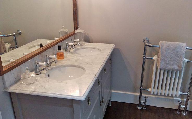 DIY victorian washstand