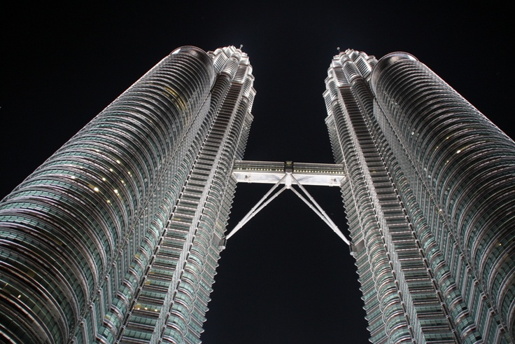Petronas Towers, Malaysia #travel #pics #pictures