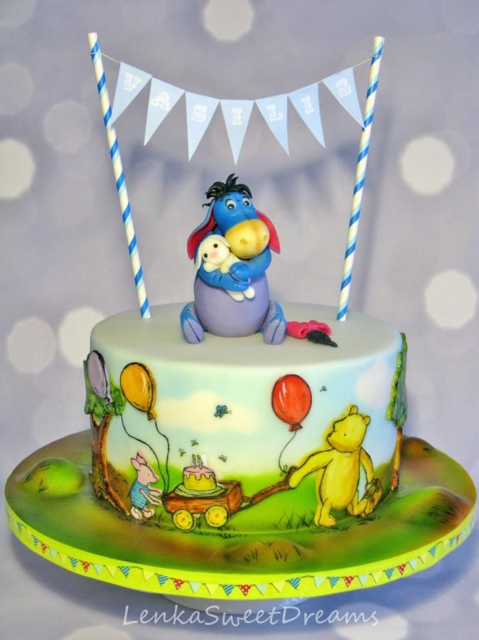 Eeyore Birthday Cake Pattern