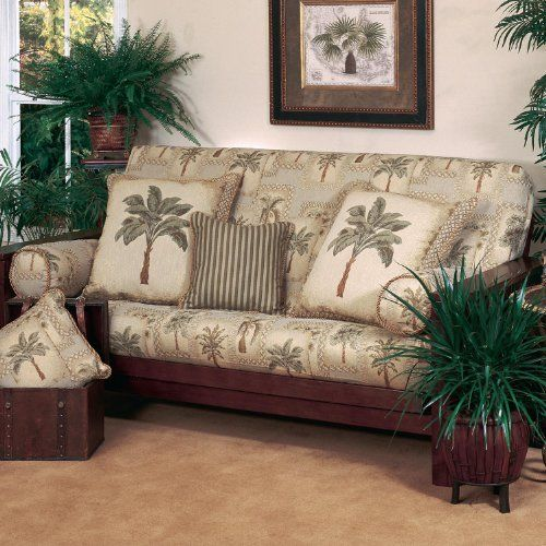 Palm Tree Futon Cover Set - 3 Piece by All Seasons Bedding. $219.99. Other - Best 25+ Tropical Futon Covers Ideas That You Will Like On