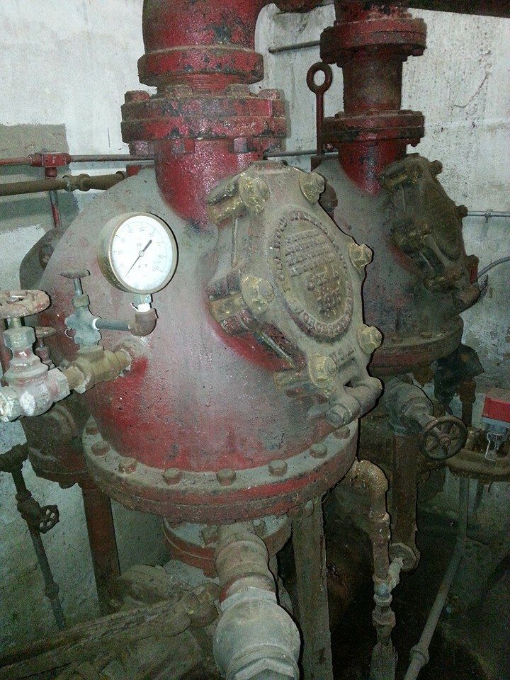 A pair of old Rockwood Dry Valves