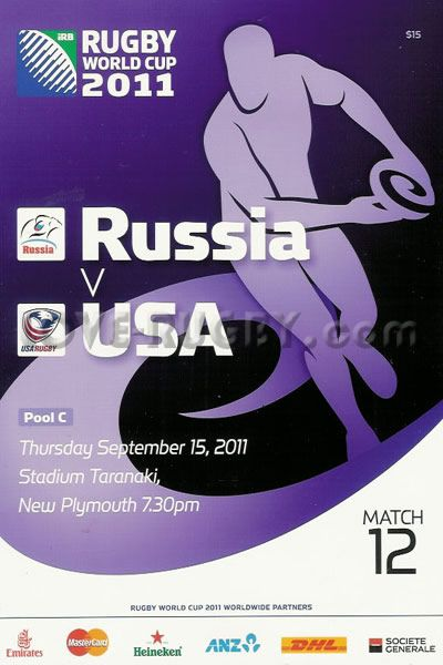 #rugby today 15/09 in 2011 : Russia 6-13 USA Eagles - rugby world cup programme  http://www.love-rugby.com/rugby-memorabilia/rugby-Programmes/matchpage.php?matchid=12596