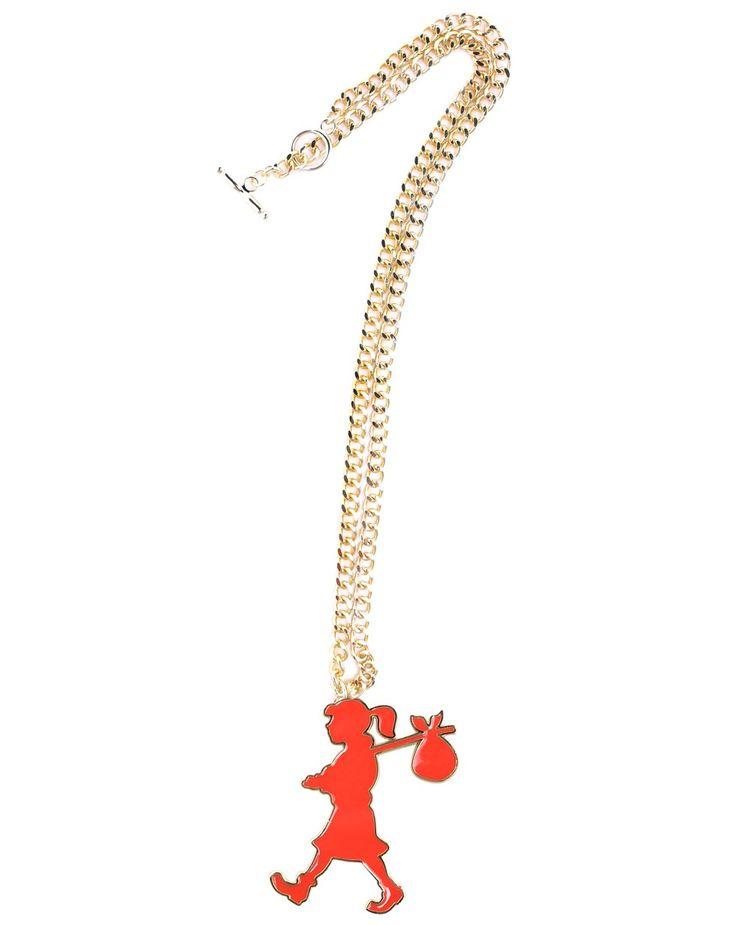 Runaway Girl in Scarlet with Gold - Karen Walker - Shop by Designer
