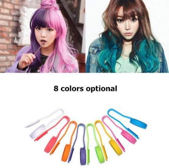 haarfärbung clip gradient haar pen 8 farben schneller versand