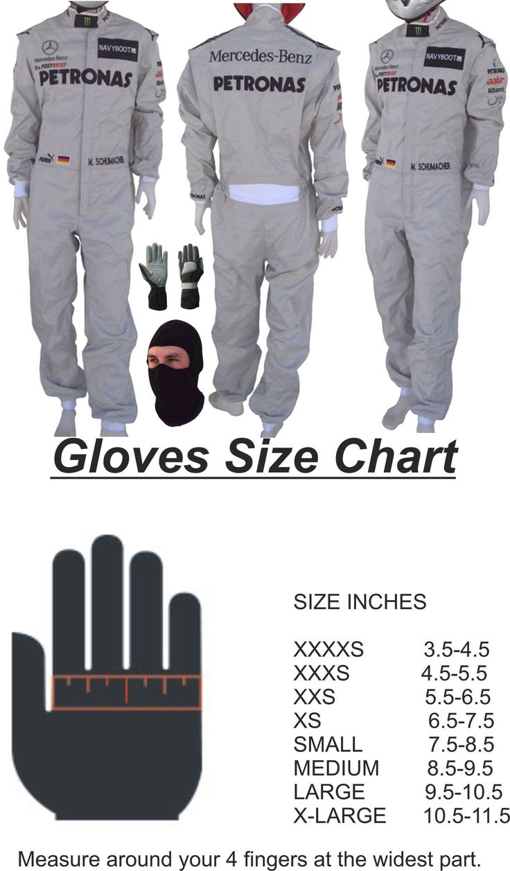 Mercedes driving gloves ebay - Clothing And Protective Gear 159029 Mercedes Petronas Go Kart Race Suit Cik Fia Level 2