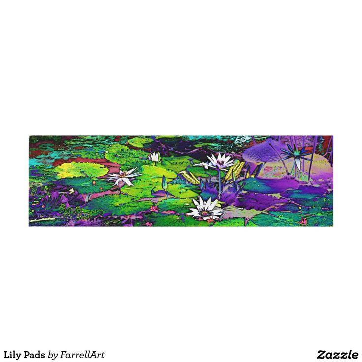 Lily Pads Panel Wall Art