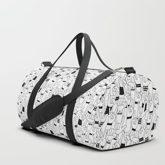 #music #love #rock #concert #crowd #mia #society6 #duffle #bag