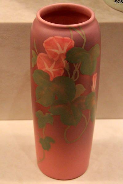 Earthenware Red Vase By Harriet Elizabeth Wilcox Of Rookwood Pottery Co Cincinnati At Art Museum OH