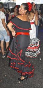 Festival Nerja Flamenco dancing