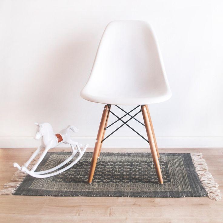 Silla Eames DSW style Polipropileno blanco Decora tu alma, 79,99 €