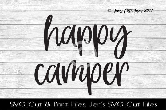 Happy Camper SVG Cut File