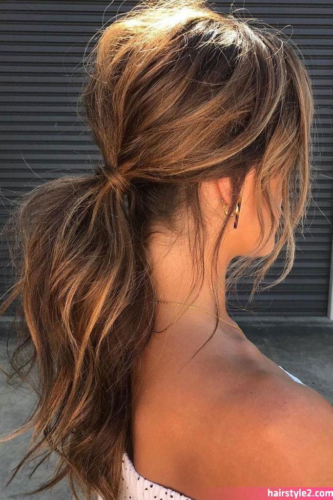 Long Hairstyles 2019 Hairstyles For Any Occasion With Your Long Hair Hair Hairstyles Long Hairstyles 2019 Gaya Rambut Gaya Rambut Ekor Kuda Rambut