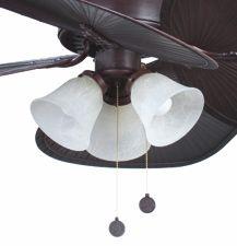 Kit de luz para ventilador IL533352-B #decoracion #iluminacion #diseño #lamparas #interiorismo #ventiladores #accesoriosventiladores