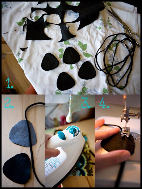How to make pirate eye patches...i need them for my kid bday!!