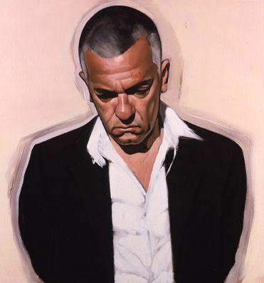 Stephen Conroy, J.K. II, 2008 oil on canvas 91.4 x 86.4 cm.