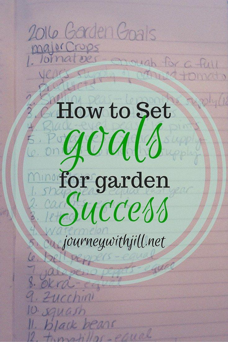 how to set my goals