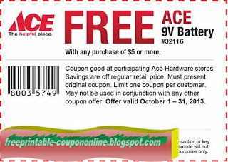Free Printable Ace Hardware Coupons Ace Hardware Ace Hardware Store Coupons