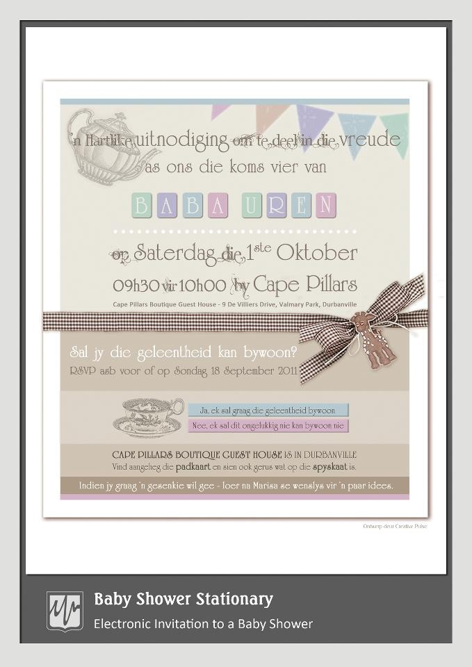 Electronic Invitation {Baby Shower}